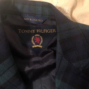 Tommy Black-watch plaid  toddler blazer  3t